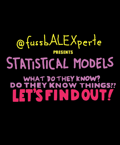 Statistical Models – what do they know? Do they know things?? Let's find out! #1